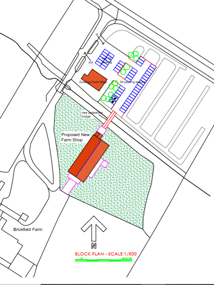 Planning Applications - a larger farm shop & a barn