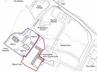 NEW Planning Application - Manor Barns