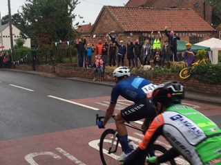 Tour of Britain in Hockerton