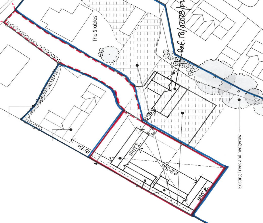 Another planning application for The Stables